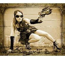 The Steampunker: Raven The Renegade Photographic Print