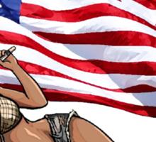 Cherlene the American Country Star Sticker