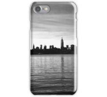 Manhattan Skyline - Empire St. Building B/W iPhone Case/Skin