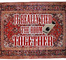 Big lebowski Carpet by givemefive