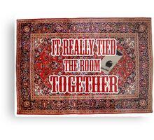 Big lebowski Carpet Metal Print