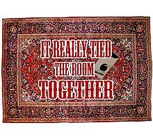 Big lebowski Carpet Photographic Print