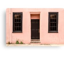 Pink Home Front Canvas Print