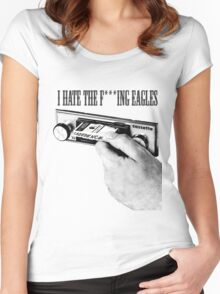 I hate fuckung eagles Women's Fitted Scoop T-Shirt