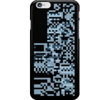 Pokemon Missingno. Blue Version iPhone Case/Skin