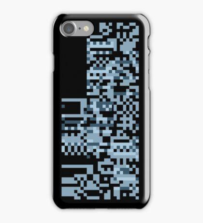 Pokemon Missingno. Blue Version iPhone Case/Skin