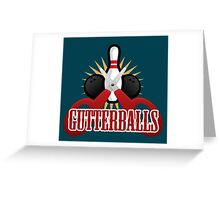 Gutterball Greeting Card