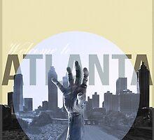 The Walking Dead Atlanta by BenRawlings