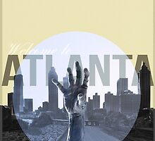 The Walking Dead Atlanta by BenRawlings