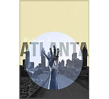 The Walking Dead Atlanta Photographic Print
