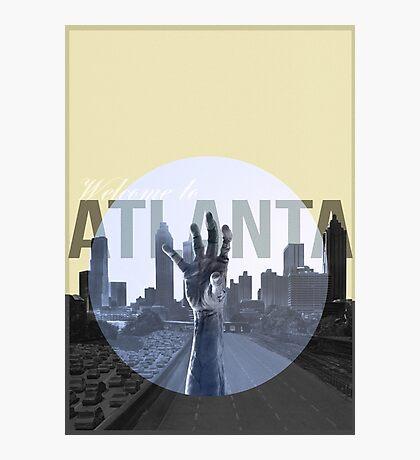 The Walking Dead Atlanta Photographic Print
