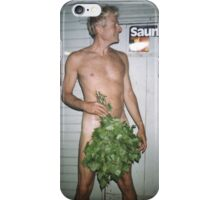 Sauna iPhone Case/Skin