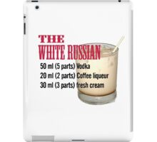 White russian iPad Case/Skin