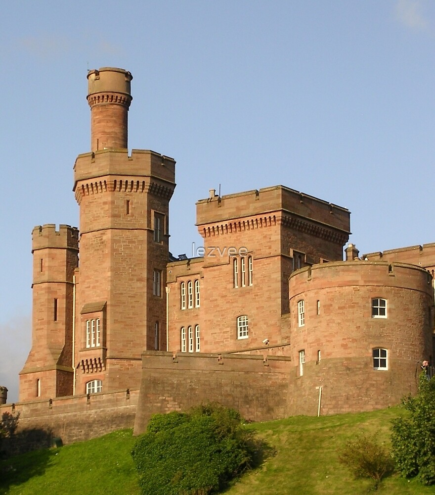 Inverness Castle by lezvee