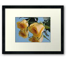 Deux Fleurs Framed Print