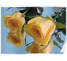 Deux Fleurs Poster