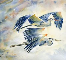 Flying Together by Melly Terpening