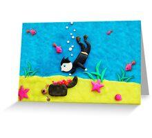 underwater Greeting Card