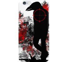 Raven Mutant Hybrid Silhouette Shirt Design iPhone Case/Skin