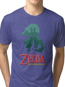 The Legend of Zelda: Wind Waker Tri-blend T-Shirt