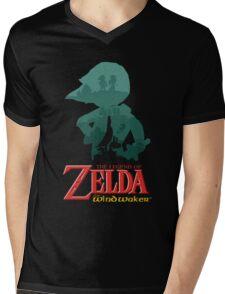 The Legend of Zelda: Wind Waker Mens V-Neck T-Shirt