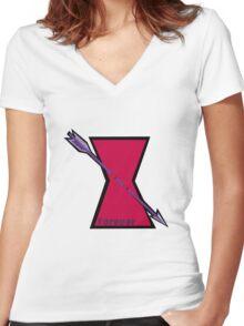 Clintasha Forever  Women's Fitted V-Neck T-Shirt