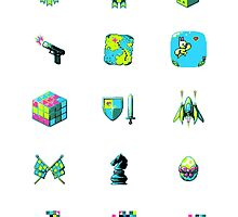 Game Jolt Category Icons - Sticker Sheet by knitetgantt
