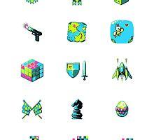 Game Jolt Category Icons - Sticker Sheet by knitetgantt