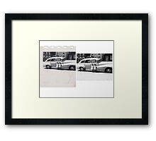 THE TWINS Before & After Framed Print