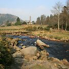 Early morning at Glendalough by John Quinn