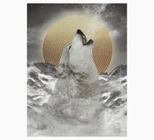 Turn Your Face To The Sun (Stay Gold Wolf) Kids Clothes