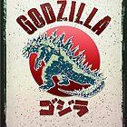Godzilla Poster by Karl Frey