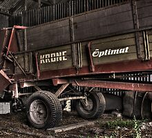 Abandoned Farm Machinery by Colin  Ewington