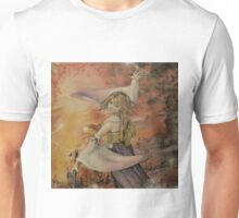 Airbrush Portrait - Yuna from Final Fantasy X Unisex T-Shirt