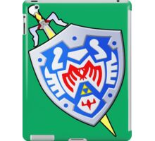 Hero's Shield and the Gilded Sword (From Majoras Mask) iPad Case/Skin