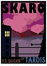 SKARO QUICKER BY TARDIS by ToneCartoons