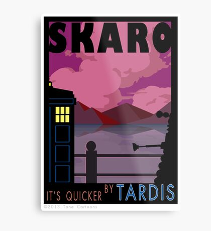 SKARO QUICKER BY TARDIS Metal Print