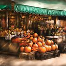 The Fruit Market by Mike  Savad
