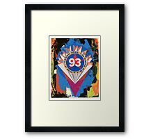 Valentine to Robert Indiana Framed Print