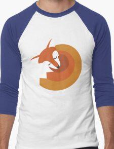 Sleeping Fox (Hounds Off) Men's Baseball ¾ T-Shirt