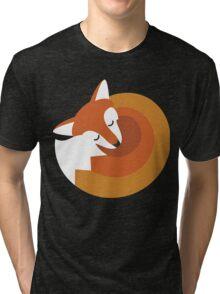Sleeping Fox (Hounds Off) Tri-blend T-Shirt
