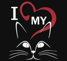 love my cat Kids Tee