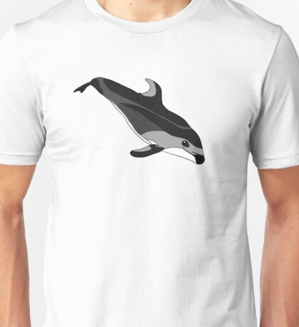 Pacific White Sided Dolphin - Libby Unisex T-Shirt