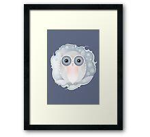 Snowly Owl Framed Print
