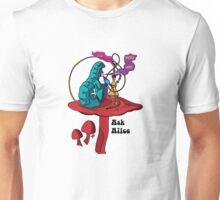 Ask Alice - The smoking Caterpillar Unisex T-Shirt
