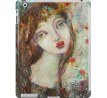 Angel with a crown iPad Case/Skin