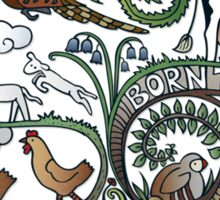 Born to Roam Sticker