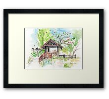 The Cherry Garden in Telford, Shrosphire, England Framed Print