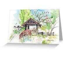 The Cherry Garden in Telford, Shrosphire, England Greeting Card