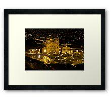 Cusco at Night - Peru Framed Print